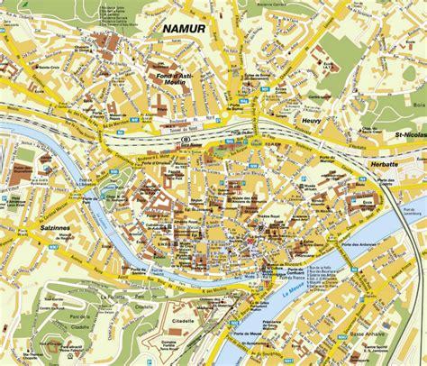 namur map namur map and namur satellite image
