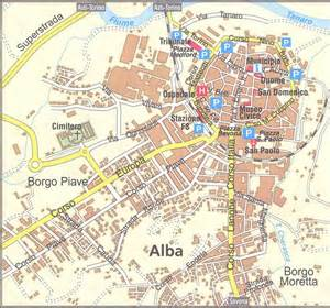 Alba Italy Map by Alba Map Alba It Mappery
