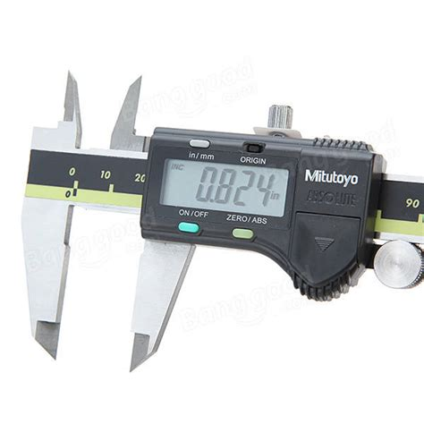 Calliper Digital 6 Sigmat Digital 6 0 150mm eu warehouse mitutoyo 6inch 0 150mm 0 01mm digital caliper stainless steel electronic vernier