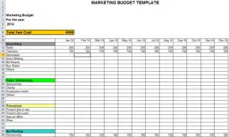 sales and marketing budget template free marketing templates calendar template 2016