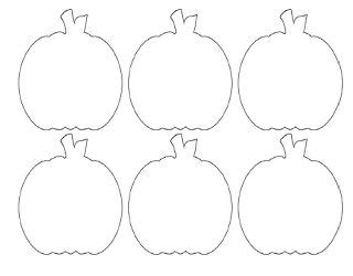 small pumpkin templates mini pumpkins templates for crafts
