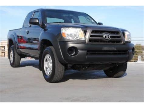 Toyota Tacoma Prerunner Price 2009 Toyota Tacoma V6 Prerunner Access Cab Data Info And