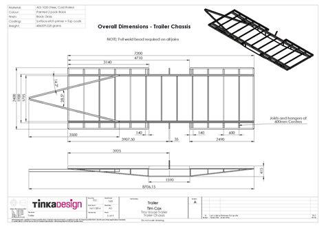Home Design Exles Living Small Trailer Build Begins