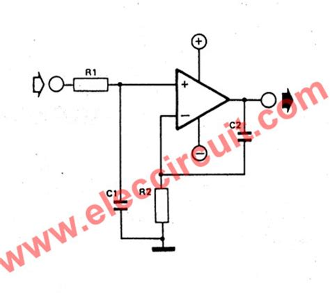 how does integrator circuit work non inverting integrator circuit using op