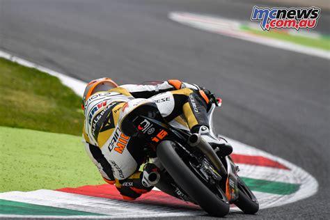 test moto3 moto2 moto3 complete official mugello test mcnews au