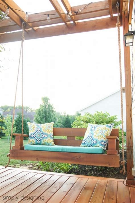 make a porch swing build a porch swing