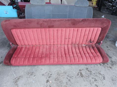 chevy pickup bench seat 1988 94 chevy gmc silverado 1500 sierra truck rear bench