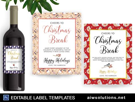 wine label design template graphic design name card template business card template