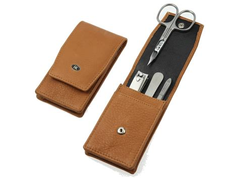 Manicure Set Souvenir hans kniebes classic leather manicure set gift sets