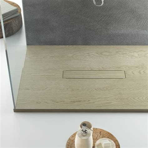 piatto doccia in legno relax design piatto doccia marmo resina legno piletta
