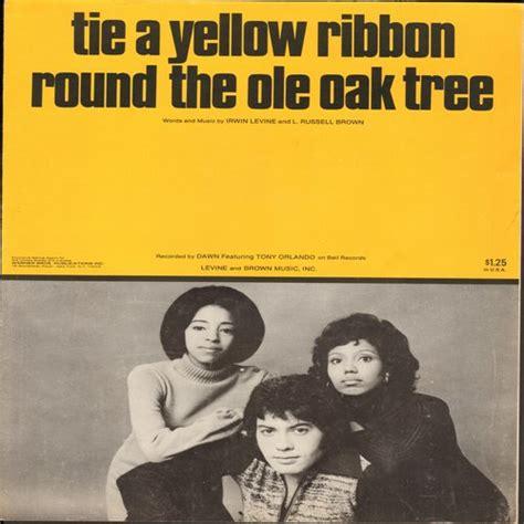 tony orlando tie a yellow ribbon the ole oak tree