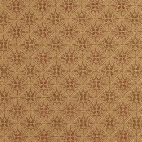 drape fabric e657 diamond green brown gold damask upholstery drapery