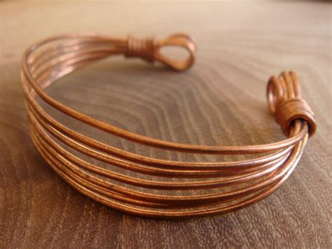 Handmade Copper - copper bracelet copper bangle handmade wire wrapped