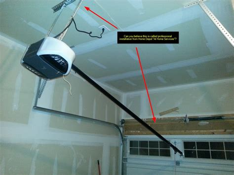 garage chamberlain garage door opener installation home