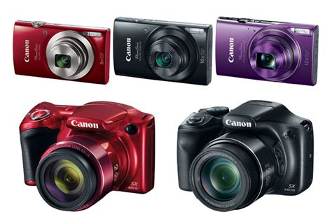 canon powershot models new canon cameras printers and camcorders announced at