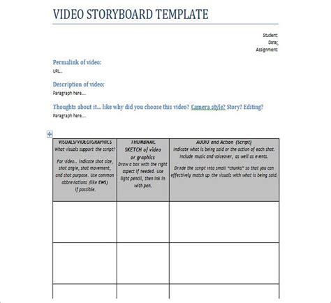 script storyboard script storyboard template image collections template