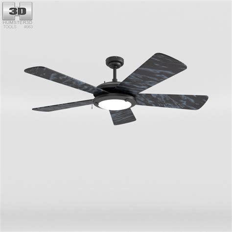 Ceiling Fan Models by Ceiling Fan Marble 3d Model Hum3d