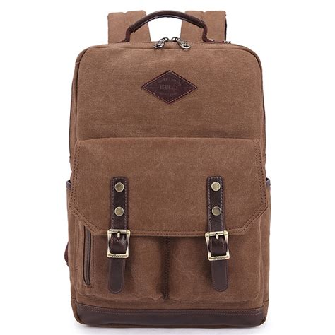 New Ambeebaby Backpack Bag kaukko new retro casual washed canvas backpack 15 quot bag canvas backpack leisure bags in backpacks