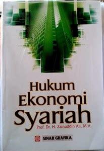 hukum ekonomi syariah toko buku mutiara palembang