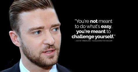 Laurent Shows Timberlake Influence by 17 Inspiring Justin Timberlake Quotes Motivational