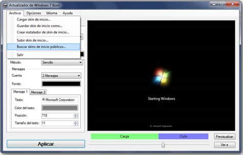 cambiar imagenes inicio windows 10 c 243 mo cambiar el logo de arranque de windows 7 taringa