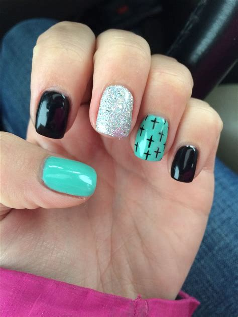 cross pattern nails the 25 best nails turquoise ideas on pinterest teal
