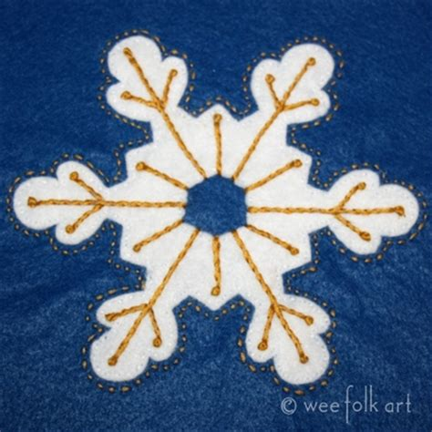 snowflake pattern for applique embroidered snowflake applique template favequilts com
