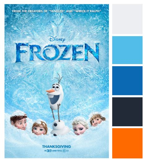 poster palette frozen this tale