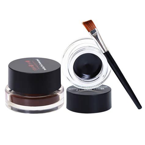 Eyeliner Harajuki 2 In 1 new brand eye makeup 2 in 1 brown black gel eyeliner