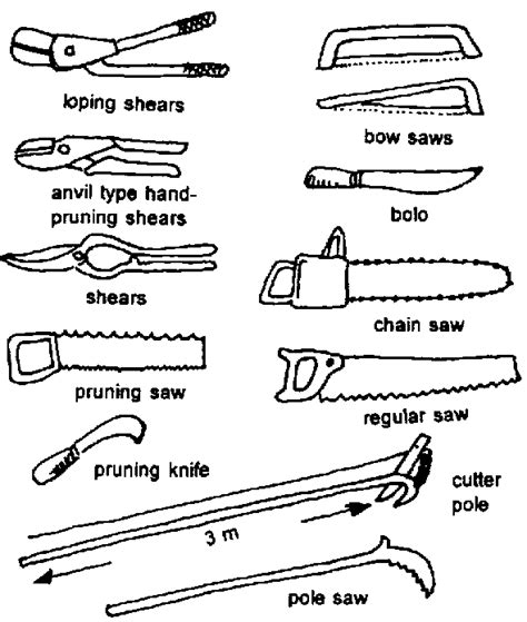 bolo and their uses gardening tools with pictures and their uses