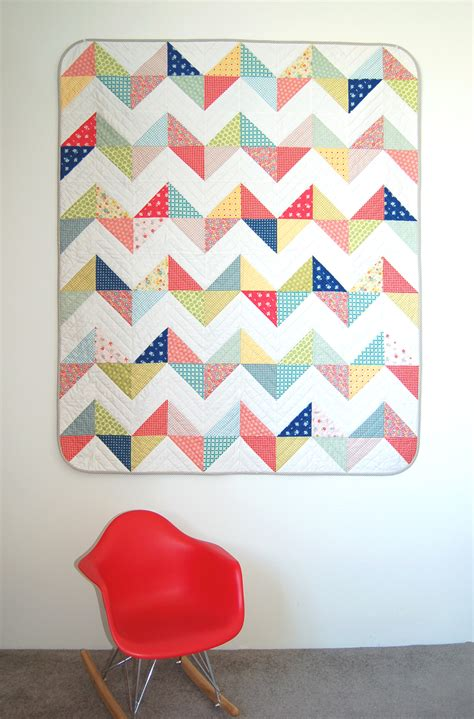Free Chevron Quilt Pattern by Free Quilt Pattern The Piper S