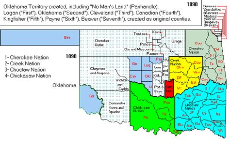 map of american tribes in oklahoma oklahoma indian territory and oklahoma territory maps