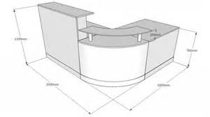 standard reception counter height images plans kitchen