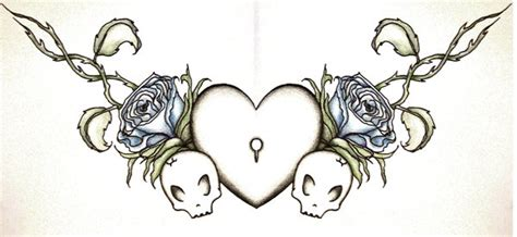 girly chest tattoos designs chest by raynacendre on deviantart