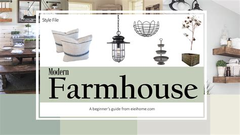 home decorating articles style file modern farmhouse eieihome