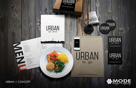 Contemporary Architecture Design Urban Eat Drink Restaurant Branding Mode Design Company