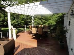 Pergola Over Deck by Pergola Over Deck Gardening Pinterest