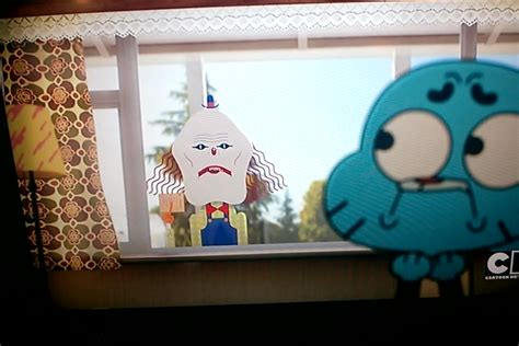 scary time the amazing world of gumball cartoon the moment you discover the creepy clown messenger in your