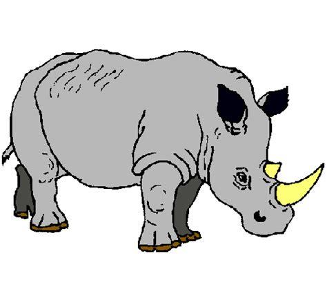 imagenes para colorear rinoceronte image gallery dibujo rinoceronte