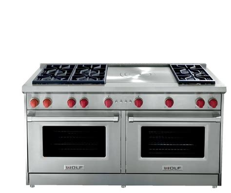 wolf kitchen appliances prices wolf 60 quot pro style gas range stainless steel gr606cg
