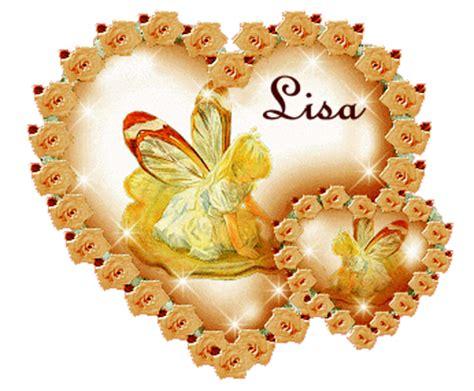 imagenes de happy birthday lisa names lisa animated gifs for friendship slideshow