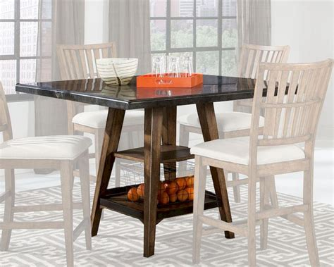 Lucca Bistro Table Intercon Square Gathering Table Lucca Inlu Ta 4848g Rbs C