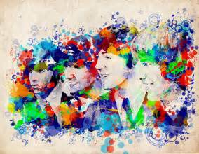 the beatles 7 painting by bekim art