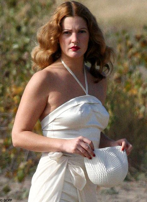 Drew Barrymore Looking Gorgeous In Vintage Costume by Drew Barrymore Looking Gorgeous In Vintage Costume
