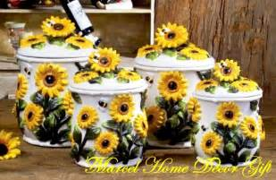 sunflower canisters for kitchen 25 best ideas about sunflower kitchen decor on