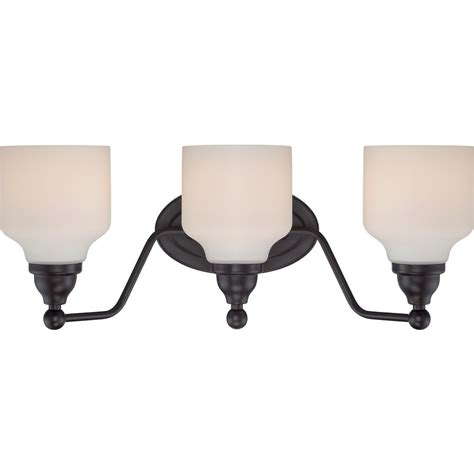 glomar 3 light mahogany bronze vanity light with chagne linen washed glass hd 1265 the home glomar lillian 21 00 in 3 light mahogany bronze vanity light cli sc323980 the home depot