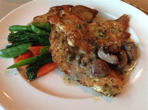 chicken picatta saut 233 ed egg battered chicken capers mushrooms sauce beurre blanc pan roasted