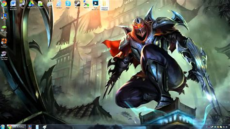 animated wallpaper windows 10 league of legends zed animated wallpaper preview youtube
