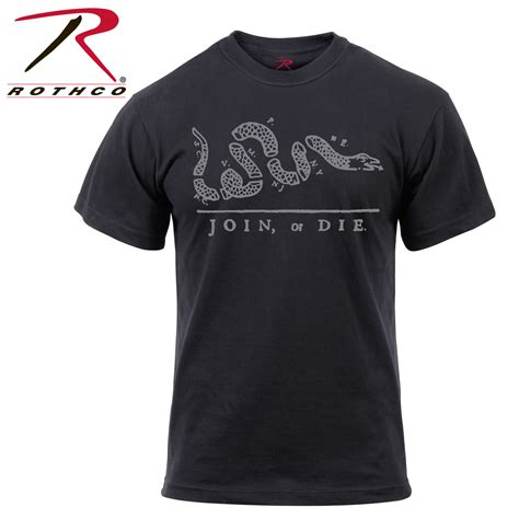 T Shirt Or Die rothco join or die t shirt