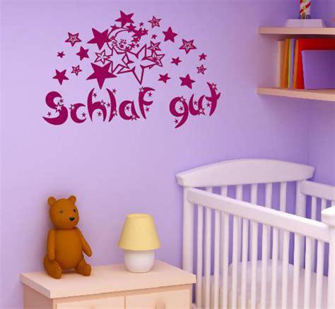 Wandtattoo Kinderzimmer Schlafen by Schlaf Gut Wandtattoo Sterne Mond Kinderzimmer Aufkleber
